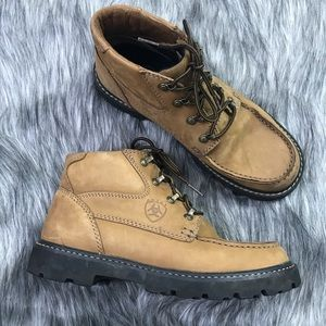 Ariat Leather Ankle Work Hiking Chukka Boots